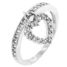 Buy Heart Charming Ring (size: 10)