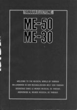 Buy Yamaha ME50E Operating Guide by download Mauritron #203841