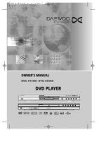 Buy Daewoo DVG5000N SPECS Manual by download Mauritron #184151