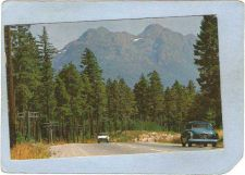 Buy CAN Vancouver Postcard Mt Arrowsmith w/Older Cars can_box1~116