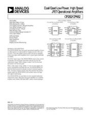 Buy SEMICONDUCTOR DATA OP282 48J Manual by download Mauritron #189861