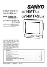 Buy Sanyo CE14MT4-B-00 SM Manual by download #172877