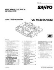 Buy Sanyo Service Manual For MECHANISM-VC Manual by download #175970