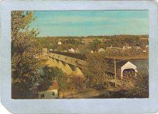 Buy CAN Hartland Covered Bridge Postcard Longest Covered Bridge In The World O~1037