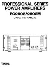 Buy Yamaha PC2602E Operating Guide by download Mauritron #204987