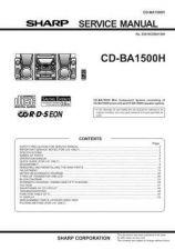 Buy CDBA1500-001 Service Data by download #132434