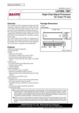 Buy SEMICONDUCTOR DATA LA7680J Manual by download Mauritron #188914