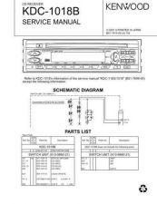 Buy KDC-116S 1018 Service Schematics by download #131592