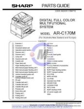 Buy Sharp ARC172M SM GB(1) Manual by download #179516