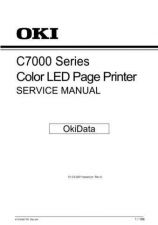 Buy OKIDATA 7000 SERIES SERVICE MANUAL by download #152291