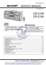 Buy Sharp CDC410W-C415W-C420W SM GB Manual by download #179893
