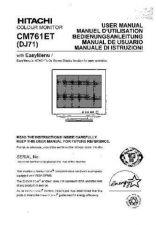 Buy Sanyo CM761ET ES Manual by download #173568