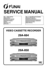 Buy Funai 29A-664 29A-850 SERVICE MANUAL Manual by download #161064