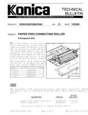 Buy Konica 11 PAPER FEED CONNECTING RO Service Schematics by download #135954