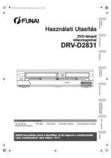 Buy Funai DRV-D2831 E9709ED HU 0725 BR1 Owners User Guide Operating by download #162