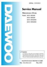 Buy Daewoo Model FRS-2022 Manual by download #168613