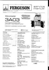 Buy Ferguson 3A03 a3501 Service Manual by download #153815
