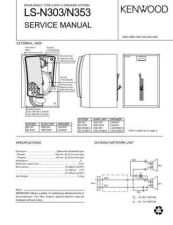 Buy KENWOOD LS-N303 353 Technical Info by download #152002