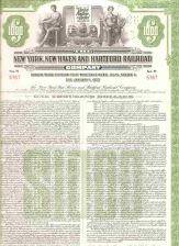 Buy CT New Haven Stock Certificate Company: New York, New Haven and Hartford R~126