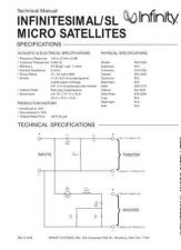 Buy INFINITY SL MICRO SAT TS Service Manual by download #151528