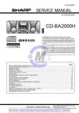 Buy Sharp CDBK137W SM GB(1) Manual by download #179857