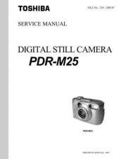 Buy Toshiba PDRM21 SM Manual by download #172261