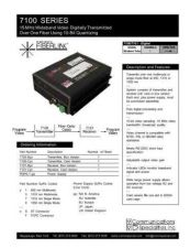 Buy COMMUNICATIONS SPECIALITIES INC SS-7100 by download #120066