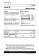 Buy SEMICONDUCTOR DATA LA2110J Manual by download Mauritron #188626