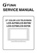 Buy FUNAI LCD-A2706 B2706 C2706 D2706(L5820EA 21BB 22FC 23RD SERVICE MANUAL by downl