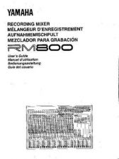 Buy Yamaha RM800E Operating Guide by download Mauritron #205193