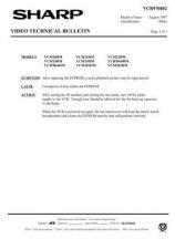 Buy Sharp VCM21HM-009 Service Schematics by download #158731