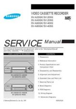 Buy Samsung SV A20GK SEH42107101 Manual by download #165837