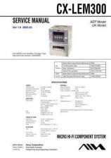Buy AIWA CX-LEM300 TECHNICAL INFO by download #125260