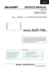 Buy Sharp 32HW53E SM GB(1) Manual by download #170016