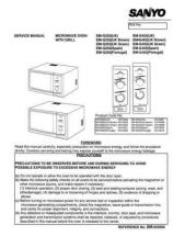 Buy Sanyo Service Manual For EM-D9550SEUK Manual by download #175762