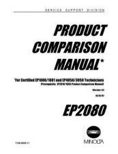 Buy Minolta COMPARISON Service Schematics by download #137467