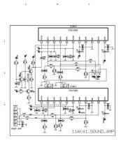 Buy Funai AK41-3 SOUND AMP Service Schematics by download #161432