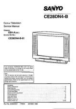 Buy Sanyo CE28DN4-B-01 SM-Only Manual by download #173106