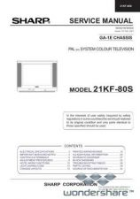 Buy Sharp 21KF80S SM GB(1) Manual.pdf_page_1 by download #177907