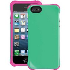 Buy Ballistic Iphone 5 Aspira Series Case (mint Green And Pink)