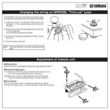 Buy Yamaha TRIMLOK QC81510 EN Operating Guide by download Mauritron #205437