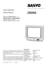 Buy Sanyo 25DN2 SM-Onl Manual by download #171197