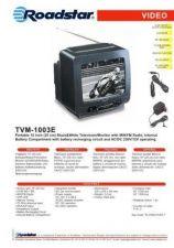 Buy ROADSTAR TVM-1003E by download #128553