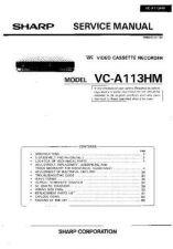 Buy Sharp VCA140HM-019 Service Schematics by download #158083
