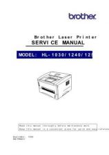 Buy BROTHER HL-1030, 1240, 1250, 1270N SERVICE MANUAL Service Manual by download #14