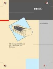 Buy HP DESKJET 200-220 SERVICE MANUAL by download #151251