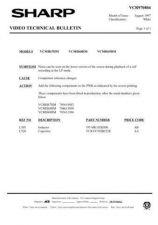 Buy Sharp VCMH68HM-011 Service Schematics by download #159113