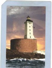 Buy CA Crescent City Lighthouse Postcard St George Reef Lighthouse lighthouse_~6