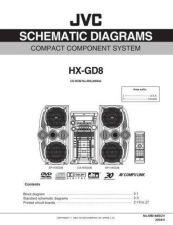Buy JVC HX-GD8Jsch Service Schematics by download #155985