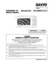 Buy Sanyo EMV5405SW(SS860313) Manual by download #174391